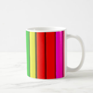Colourful Bright Rainbow Coffee Mug