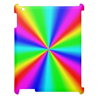 Colourful Bright Rainbow Cover For The iPad 2 3 4