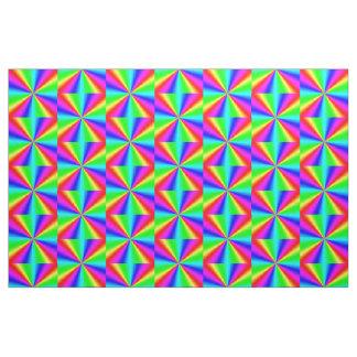 Colourful Bright Rainbow Fabric