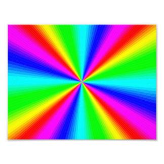 Colourful Bright Rainbow Photo