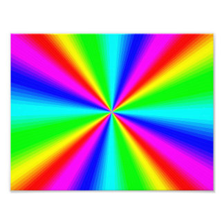 Colourful Bright Rainbow Photo Print