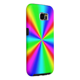 Colourful Bright Rainbow Samsung Galaxy S6 Cases