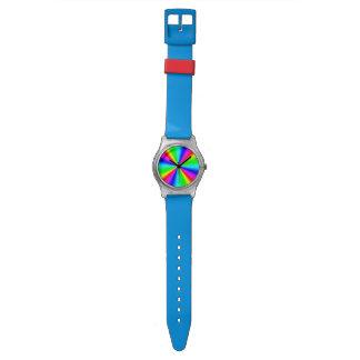 Colourful Bright Rainbow Watch
