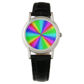 Colourful Bright Rainbow Wristwatches