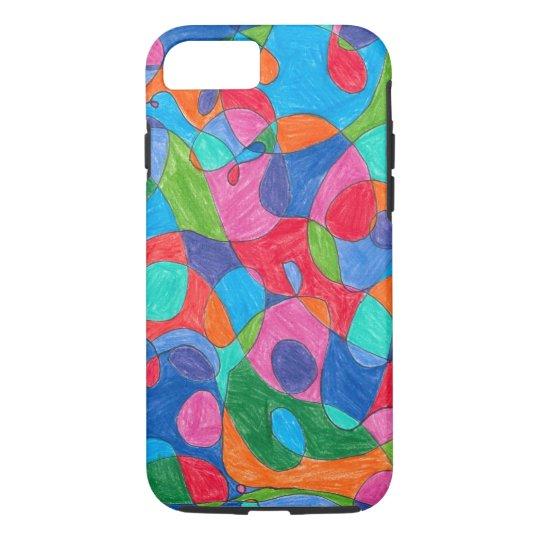 Colourful Bubble Art IPhone Case