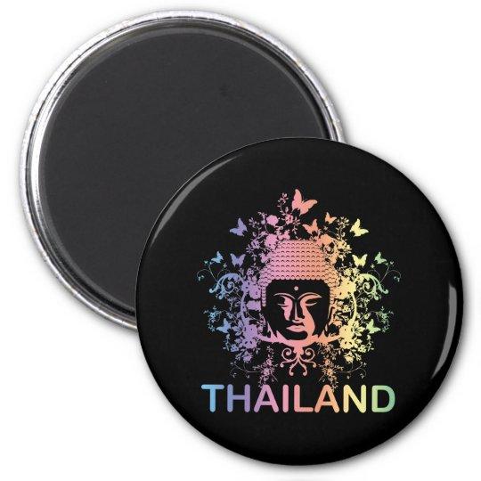 Colourful Buddha thailand Magnet