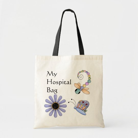Colourful Bugs Hospital Over Night Tote
