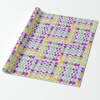 Colourful Bunting giftwrap Wrapping Paper