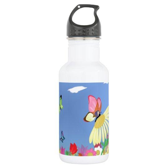 Colourful Butterflies 532 Ml Water Bottle