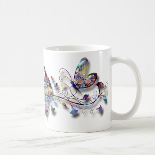 Colourful Butterflies Coffee Mug