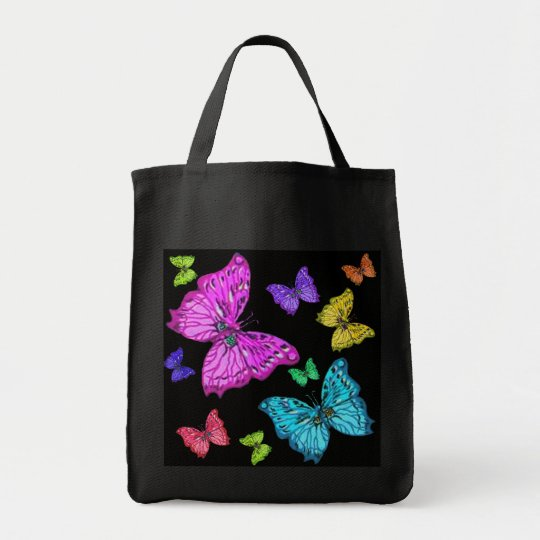 Colourful Butterflies Tote bag