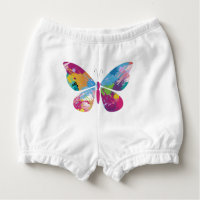 Butterfly Nappy Cover