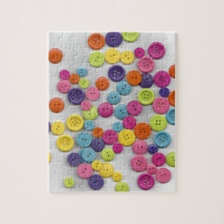 Colourful Buttons Here Jigsaw Puzzle