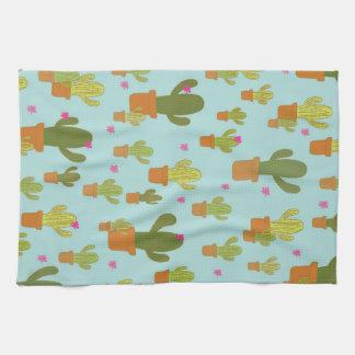 Colourful Cacti teatowel Tea Towel