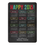 Colourful Calendar Business Holiday Cards