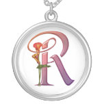 Colourful Calla Initial R