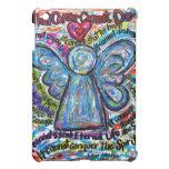 Colourful Cancer Angel iPad Case