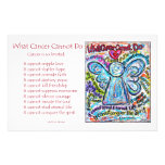 Colourful Cancer Angel Stationery
