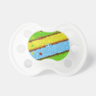 Colourful Cartoon Baby Pacifiers