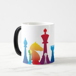 Colourful Chess Mug