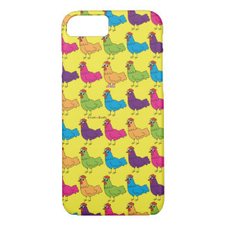Colourful Chickens Cell Phone Case