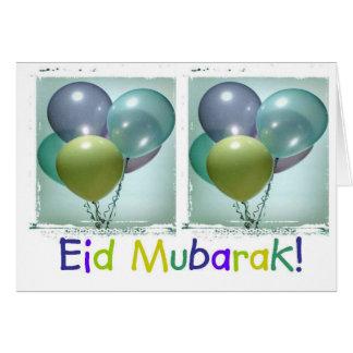 Colourful Children's Eid Mubarak Card