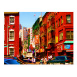 Colourful Chinatown Block NYC