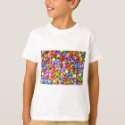 Colourful Chocolate Candy Pattern T-Shirt