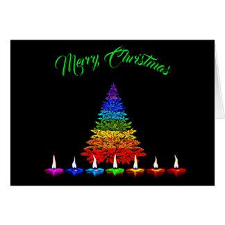 Colourful Christmas Card