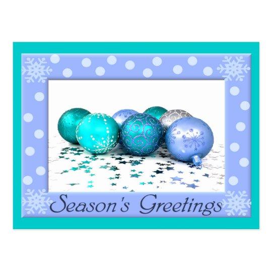 Colourful Christmas Postcard