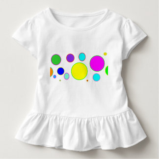 Colourful Circles Toddler Shirt