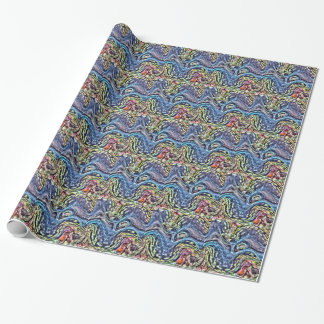 Colourful Clam Wrapping Paper