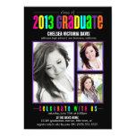 Colourful Class of 2013 Graduate Photo Invite