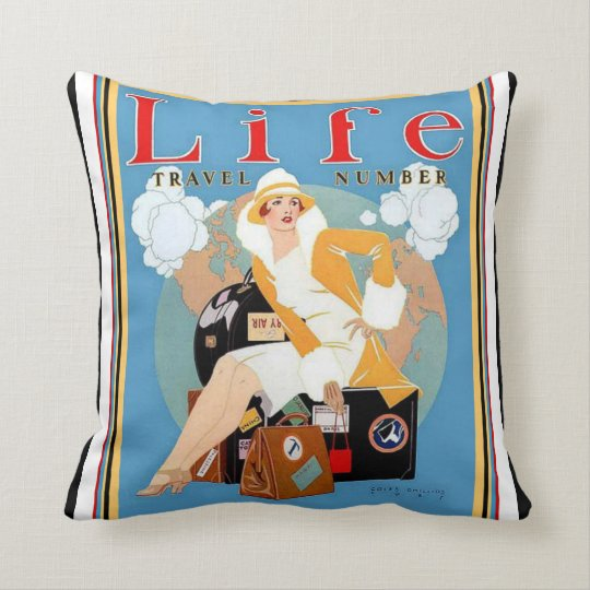 Colourful & Classy Art Deco Life Pillow