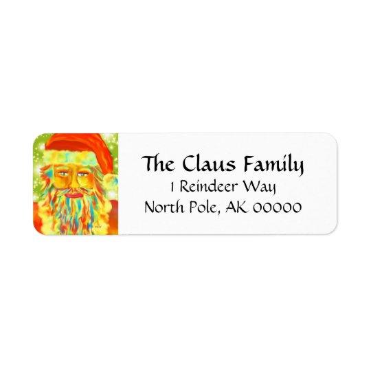 """""""Colourful Claus"""" Santa"""