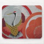 Colourful Crane Mouse Pad