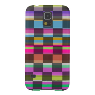 Colourful Cubes Cases For Galaxy S5