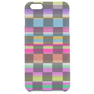 Colourful Cubes Clear iPhone 6 Plus Case