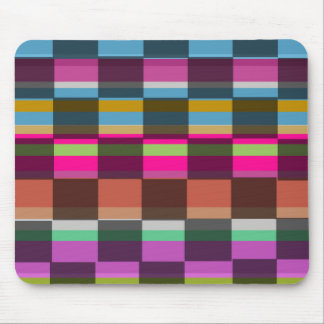 Colourful Cubes Mouse Pad