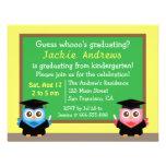 Colourful, Cute Owl Graduation, for Kids