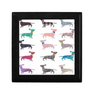 Colourful Dachshund! Gift Box