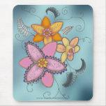 Colourful Daffodils Mousepad