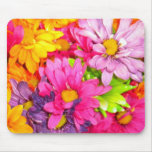 Colourful Daisies Mousepad
