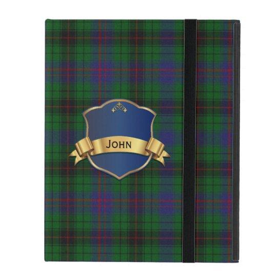 Colourful Davidson iPad Folio Case