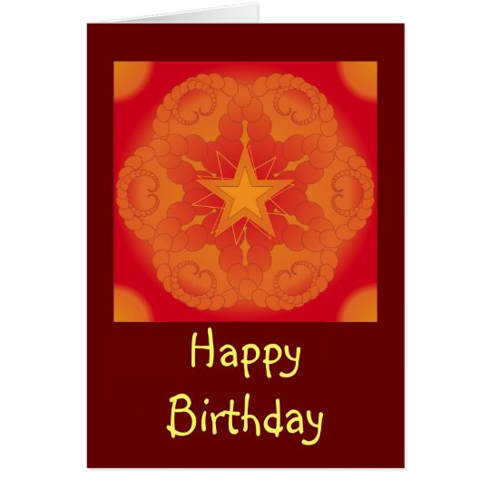 Colourful Design / Birthday Card