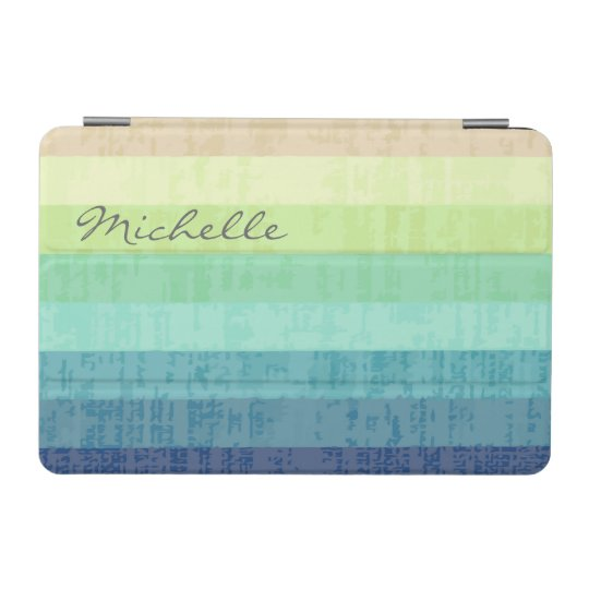 Colourful Designer Monogram iPad Mini Case iPad Mini