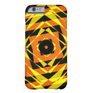 Colourful diamond shapes patttern barely there iPhone 6 case