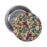 Colourful Dice Button