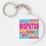 Colourful Dispatch Keychains