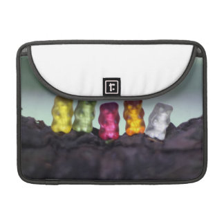 Colourful Diversity Gummy Bears Photography Sleeve For MacBooks